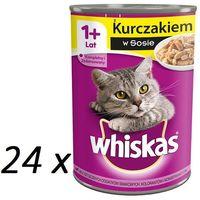 Whiskas kurczak w sosie 400 g x 18 + 6 gratis - darmowa dostawa od 95 zł! (5900951220883)