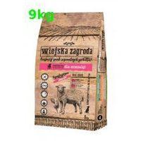 Wiejska Zagroda Jagnięcina 9kg ze szpinakiem dla szczeniąt Lamb, 5906874201114