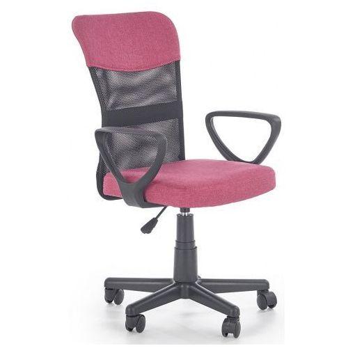 Fotel Dla Dziewczynki Chester Różowy Producent Elior