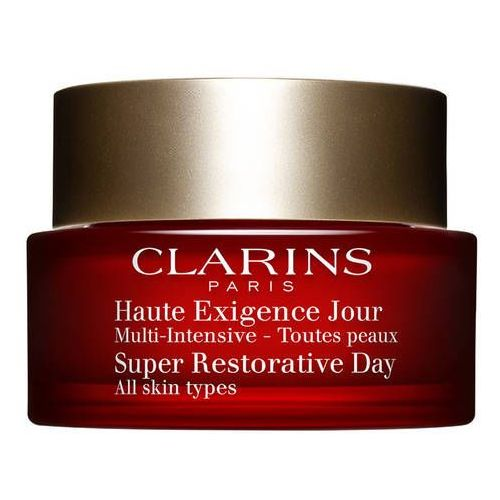 Clarins super restorative ujędrniający krem na dzień do wszystkich rodzajów skóry (day illuminating lifting replenishing cream for all skin types) 50