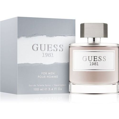 14fb994934aba Guess Guess 1981 Men 100ml EdT - fotografia produktu