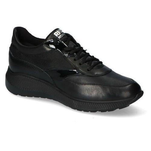 Sneakersy Ryłko 1LRH2_AP_5NE Czarne lico, sneakersy
