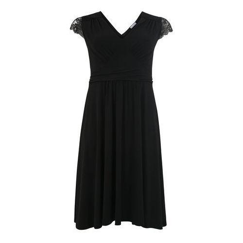 Anna Field Curvy Sukienka czarny, kolor czarny