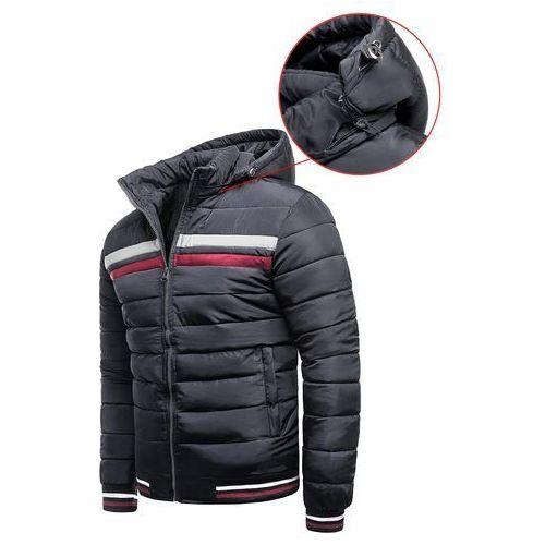 d1636ea57461f ... Męska kurtka zimowa yp9961- stalowa marki Risardi - Fotografia ...