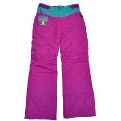 Salomon Nowe dziecięce spodnie sashay jr pant purple 10/10k rozmiar 140/m