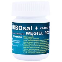Carbosal+carbo z czarną jagodą x 30 kaps (5907636994077)