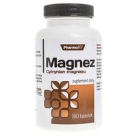 Pharmovit Cytrynian Magnezu - 180 tabletek (5902811230605)