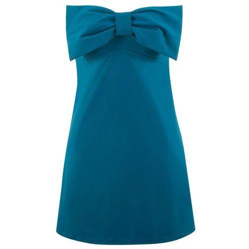 59d01b4f1b Sukienka kąpielowa wyszczuplająca bonprix niebieskozielony