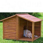buda dla psa z przedsionkiem - l: szer. x gł. x wys. 130 x 100 x 105 cm marki Trixie natura
