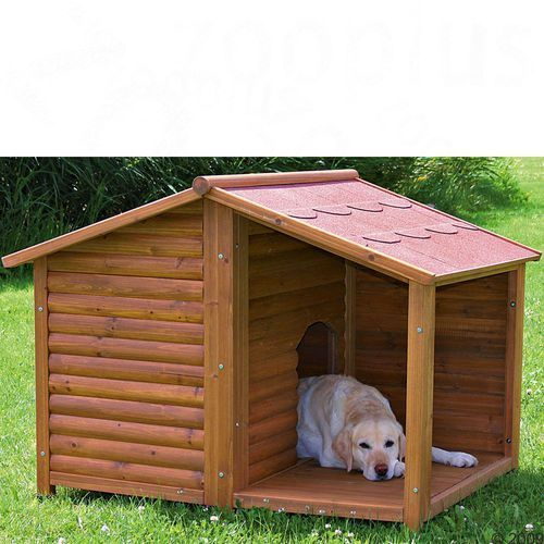 Trixie natura buda dla psa z przedsionkiem - l: szer. x gł. x wys. 130 x 100 x 105 cm (4011905395128)