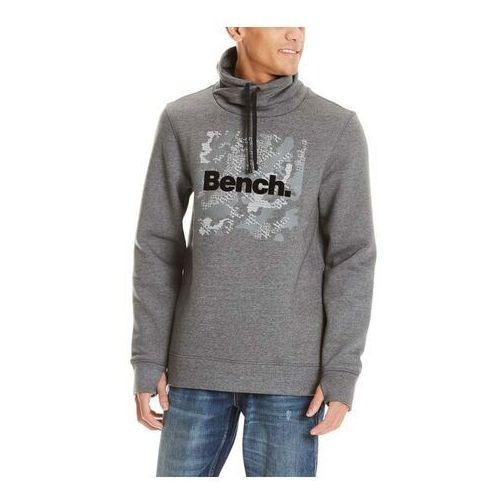 bluza BENCH - Sweat High Neck Dark Grey Marl Winter (MA1053) rozmiar: M, 1 rozmiar