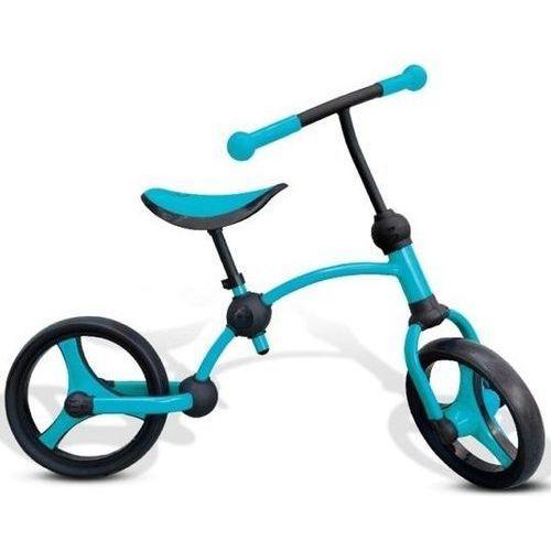Rowerek biegowy smart trike niebiesko-czarny marki Milly mally