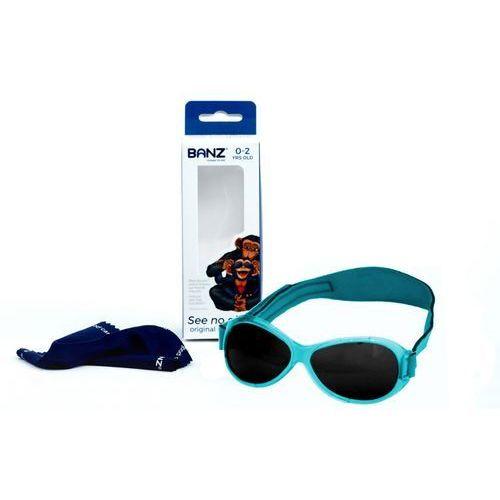 Okulary przeciwsłoneczne dzieci 0-2lat retro - aqua marki Banz