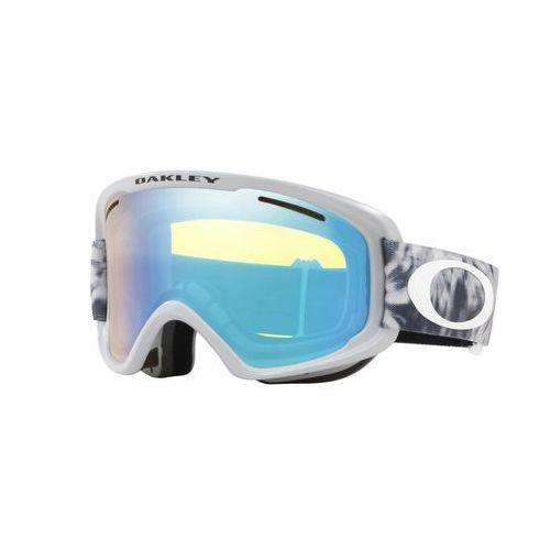 Oakley gogle narciarskie o frame 2.0 xm tranquil flury sharkskin w/hi yellow&dark grey