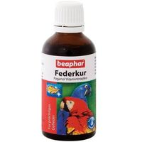 BEAPHAR Federkur (Paganol) - witaminowy dodatek do pożywienia dla ptaków 50ml (8711231125210)