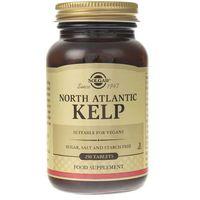 Tabletki Solgar Północnoatlantycki Kelp (Jod) 200 mcg - 250 tabletek