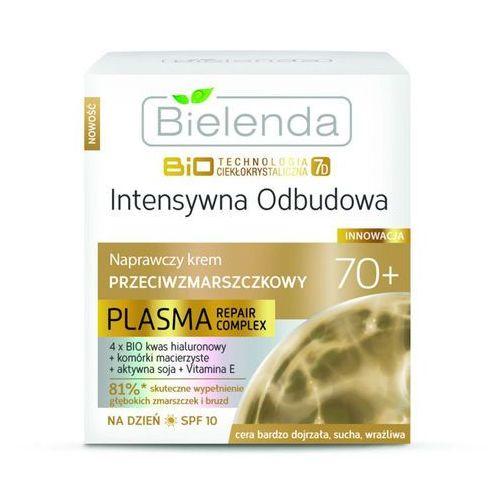 Bielenda biotech 7d intensive rebuilding 70+ krem na dzień remodelujący przeciw zmarszczkom spf10 (plasma repair complex) 50 ml