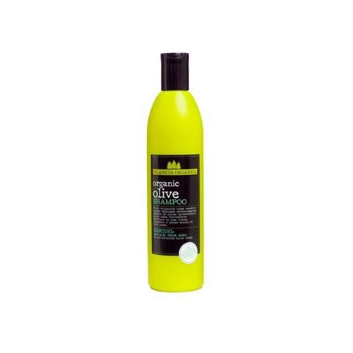 Planeta Organica Organiczny Oliwa z oliwek Szampon do włosów codzienna pielęgnacja 360ml, BS PO