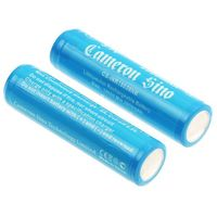 2x akumulator 18650 2900mAh 10.73Wh Li-Ion 3.7V z zabezpieczeniem PCM (Cameron Sino), CS-INR18650NB