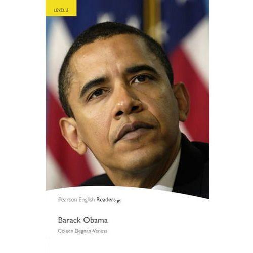 Barack Obama Book Penguin Readers, Plus Audio CD, Level 2 Elementary (9781408261262)