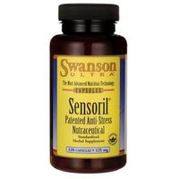 Kapsułki Swanson Sensoril Anti-Stress Nutraceutical 120 kaps.