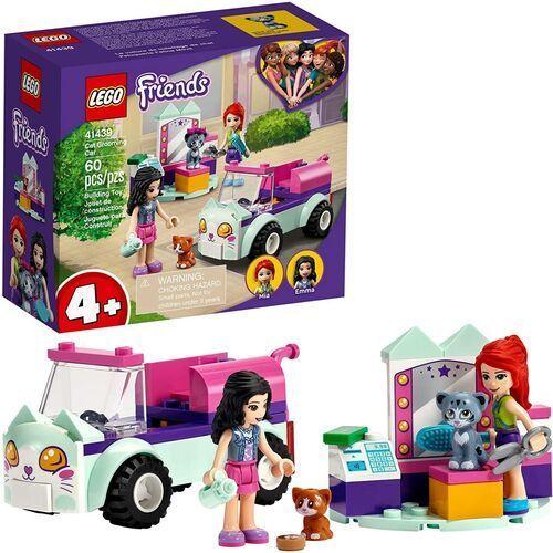 41439 OBJAZDOWY SALON PIELĘGNACJI KOTÓW (Cat Grooming Car) KLOCKI LEGO FRIENDS