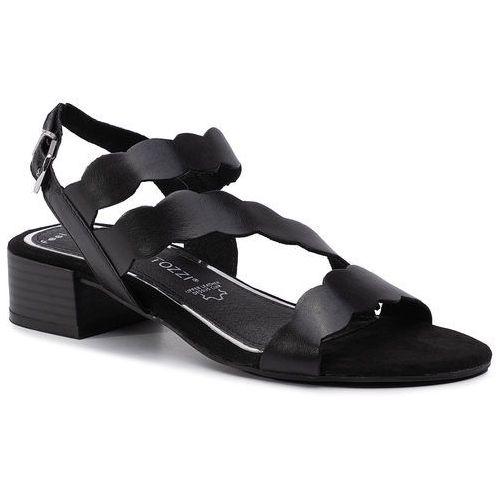 Sandały MARCO TOZZI - 2-28212-22 Black Nappa 022, kolor czarny