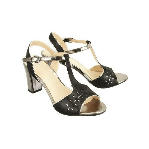 28305-28 033 black sue comb, sandały damskie marki Caprice