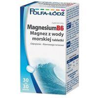 Tabletki MAGNESIUMB6 Magnez z wody morskiej x 30 tabletek