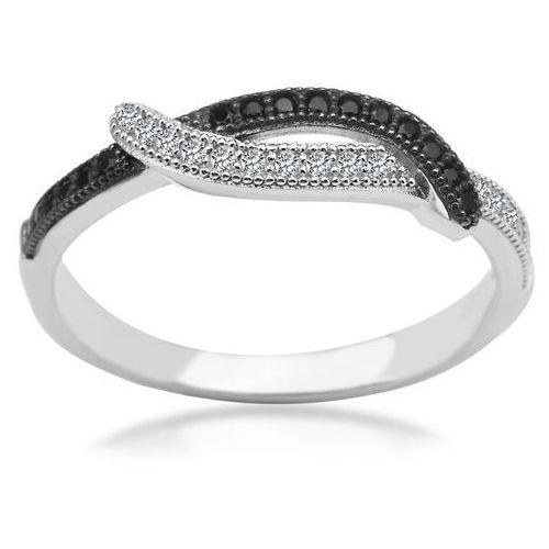 95afa2ec0ab659 Scarlett - srebrny pierścionek z cyrkoniami, kolor szary - Oladi.pl ...