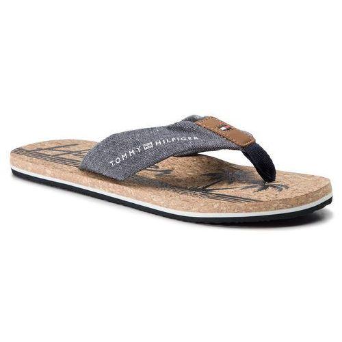 Tommy hilfiger Japonki - chambray beach sandal fm0fm02268 midnight 403