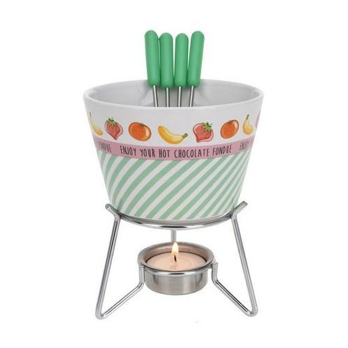 Zestaw do fondue Star zielony