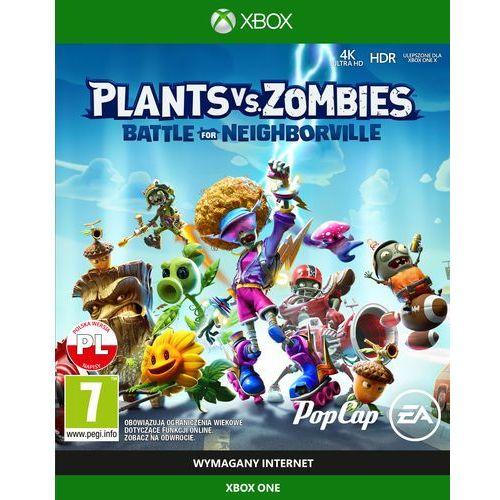 Gra xbox one plants vs zombies garden warefare marki Electronic arts