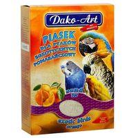 DAKO-ART Piasek pomarańczowy dla ptaków 1,5kg