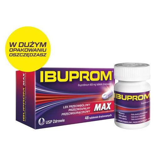 Tabletki IBUPROM Max x 48 tabletki - 48 tabletek