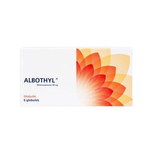 Albothyl globulki 0.09 6 sztuk - zakażenia pochwy rzęsistkiem pochwowym Kurier: 13.75, odbiór osobisty: GRATIS
