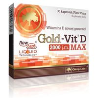 Kapsułki Olimp Gold-Vit D MAX Witamina D 30 kaps. 037962