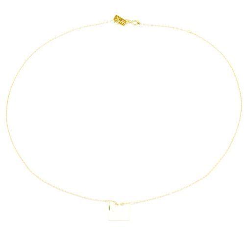 5cabc9ad3d Naszyjnik srebrny pozłacany sn.022.03 biżuteria damska ze srebra marki Saxo  - 2