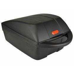 Fischer kufer na bagażnik rowerowy, czarny