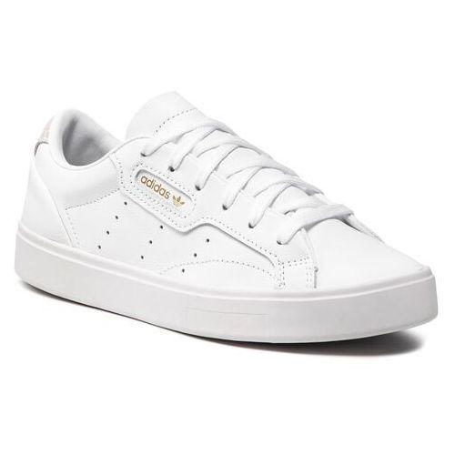 Buty adidas - Sleek W DB3258 Ftwwht/Ftwwht/Crywht, kolor biały