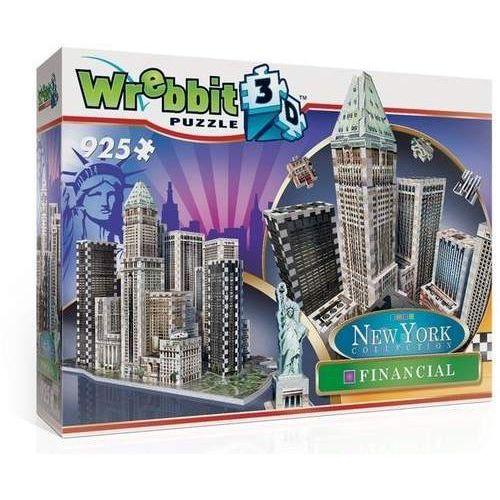 Wrebbit puzzle 3D 925 el. New York Financial DT
