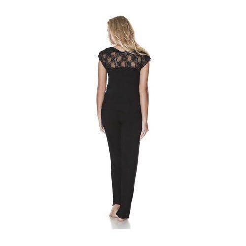 67d211e620f76e Damska bambusowa piżama VELIA L Kremowy, LM_1131 (Luisa Moretti ...