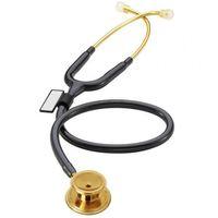 Mdf Stetoskop internistyczny md one 777 pozłacany czarny