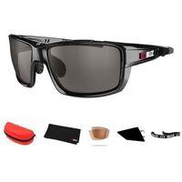 Sportowe okulary przeciwsłoneczne tracker ozon czarne marki Bliz