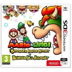 Gra 3ds mario & luigi: bowser's inside story + bowser jr.'s journey marki Nintendo