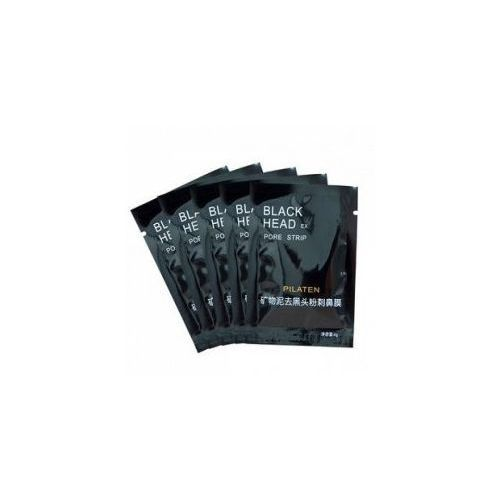 Pilaten blackhead pore strip, czarna maska z węglem bambusowym, saszetka, 6g