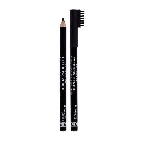 Rimmel London Professional Eyebrow Pencil kredka do brwi 1,4 g dla kobiet 004 Black Brown, 83729 - Godna uwagi obniżka