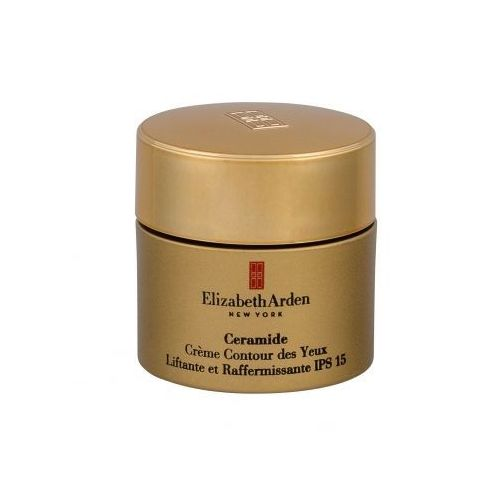 Ceramide plump perfect ultra lift and firm eye cream spf15 krem pod oczy 15 ml dla kobiet Elizabeth arden