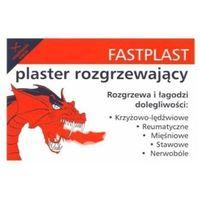 Plaster FASTPLAST Plastry rozgrzewający 12x18cm x 50 sztuk