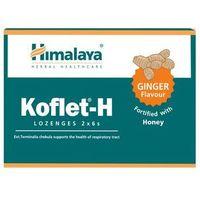 Tabletki Himalaya Koflet-H pastylki na kaszel smak imbirowy 12 tabletek